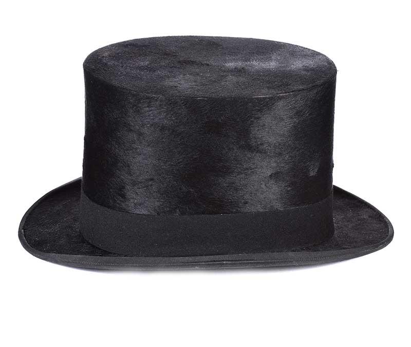 Lot 44 - LARGE SILK TOP HAT