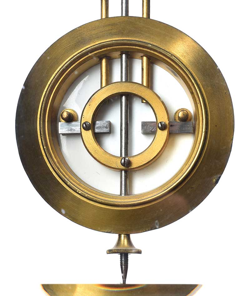 Lot 7 - VICTORIAN SLATE CLOCK