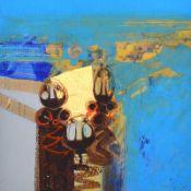 Brian Ferran, HRUA - TAIN 27 - Oil on Board- 12 x 12 inches - Signed
