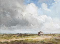 Wycliffe Egginton, RI RCA - STORM CLOUDS - Watercolour Drawing - 10 x 14 inches - Signed
