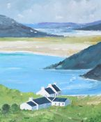 Sean Lorinyenko - TRA NA ROSSAN SEAVIEW, DOWNINGS - Acrylic on Board - 20 x 16 inches - Signed