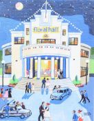 Cupar Pilson - THE FLORAL HALL, BELFAST - Limited Edition Coloured Print (7/95) - 14 x 11 inches -
