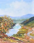 Sean Lorinyenko - THE ROLLING HILLS OF DONEGAL - Acrylic on Board - 20 x 16 inches - Signed