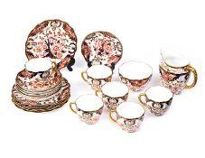 CROWN DERBY TEA SET