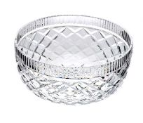 BOXED WATERFORD CRYSTAL FRUIT BOWL