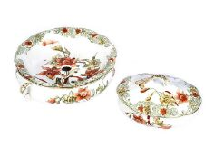 DOULTON SOAP DISH & OVAL JAR & COVER