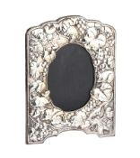 EMBOSSED SILVER PHOTOGRAPH FRAME