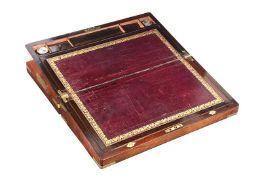 WILLIAM IV ROSEWOOD BOX