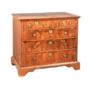 EIGHTEENTH CENTURY WALNUT CHEST OF DRAWERS