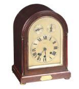 WESTMINSTER CHIME BRACKET CLOCK