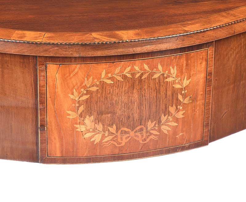 ANTIQUE SHERATON STYLE SIDE TABLE - Image 3 of 8