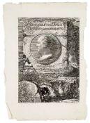 Francesco Piranesi, Italian 1758/59-1810- EQVES . IO . BAPT . PIRANESIUS \ VENETUS . ARCHITECTUS,