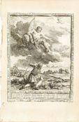 Jean-Jacques Pasquier, French 1718-1785- Jupiter et le métayer. Fable CVII., after Jean-Baptiste