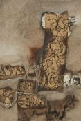 Douglas Owen Portway, South African 1922-1993- Untitled, 1964; mixed paper, signed and dated 64