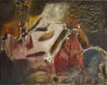 Aubrey Williams, Guyanese/British 1926-1990- Tacuma, 1964; oil on canvas, signed, titled and
