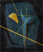 Francis Bott, German 1904-1998- Untitled (Abstract), circa 1950; oil on board, signed lower left, 47