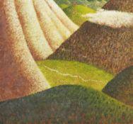 Robert Maclaurin, Australian/ Scottish b.1961- Distant City; oil on canvas, signed lower left. 165 x