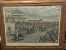 Liverpool Grand Steeplechase 1839, drawn and engraved by Charles Hunt, a pair,