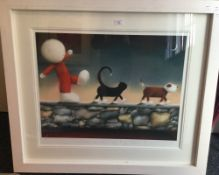 DOUG HYDE (born 1972) British, Show Me The Way To Go Home, limited edition print numbered 468/595,