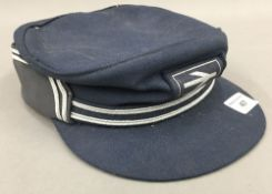 A vintage British Rail hat