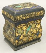 A late 19th century Kashmiri card box