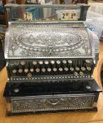 A vintage National Cash register