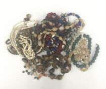A quantity of various jewellery