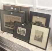 A quantity of prints,
