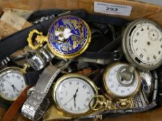 A quantity of various watches