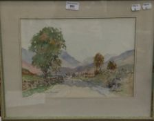 WILLIAM RUSSELL (20th century) Scottish, Loch Tay and Loch Tay Above Kenmore, a pair, watercolours,