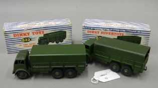Two boxed Dinky toys,