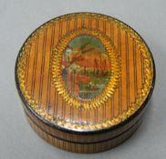 A 19th century snuff box