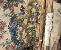 A tapestry and various tapestry makers frames
