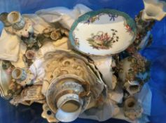 A large quantity of miscellaneous china and glass,