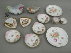 A quantity of 19th century and later Continental porcelain,