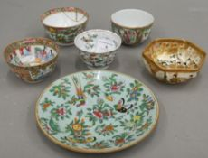 A quantity of 19th century Chinese and Japanese porcelain