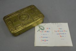 A Princess Mary 1914 Christmas tin