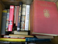 A quantity of military books,