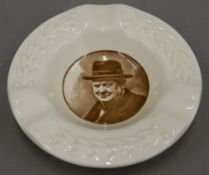 A Royal Doulton Winston Churchill ashtray