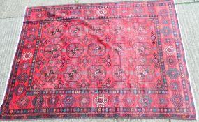 A Turkmen carpet 244 x 198