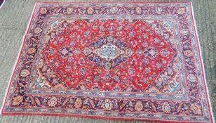 A Kashan carpet 207 x 143