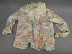 An early/mid-20th century Chinese embroidered silk jacket