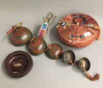 A small quantity of ethnographic items,