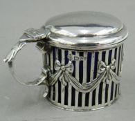 An Edwardian silver mustard