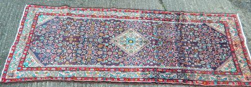 A Hamadan carpet 275 x 109