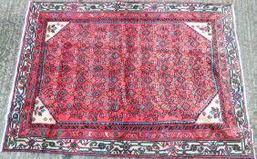 A Hamadan carpet 178 x 131
