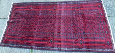 A Turkmen carpet 230 x 125