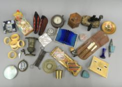 A box of miscellaneous items