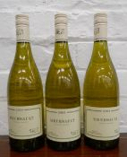 Three bottles of 2009 Verget Meursault