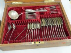 A part canteen of silver cutlery (approximately 90 troy ounces)